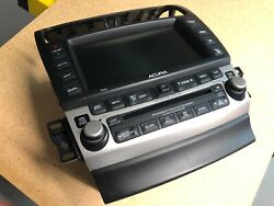 Acura TSX Navigation head unit for 2004 - 2005. Touch screen with climate contrl
