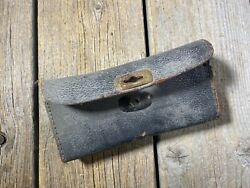 Vintage Antique Bike Bicycle Saddle Bag Tool Bag Leather Tool Pouch For Saddle