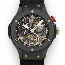 Hublot Ceramic Bigger Bang Tourbillon Chronograph Watch