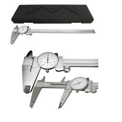 12and039and039 Shockproof Dial Caliper Stainless Steel001and039and039 Grad Calipers Ruler W/ Case