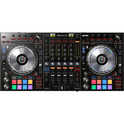 Pioneer DJ DDJ-SZ2 - Professional DJ Controller For Serato DJ + FREE The DJ Hook