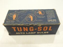 1920and039s 1930and039s Tung-sol 2331 Light Bulbs 6 - 8 Volt 32-32 Cp Vintage Advertising