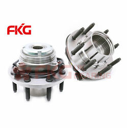 2 Front Wheel Hub Bearing 8 Stud For 99-2003 2004 Ford F-250 Super Duty 515020