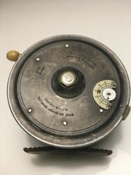 Antique Hardy Super Silex 3 1/2 Fly Fishing Reel England