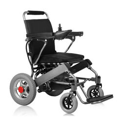 24v 20ah 250W lightweight folding electric wheelchair for disabled and elderly
