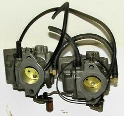Omc Outboard Marine Corp Boat Two Carburetor Set Part No. 398340