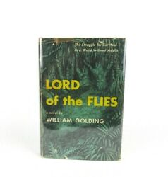 Lord Of The Flies By William Golding First American Edition In Dust Jacket