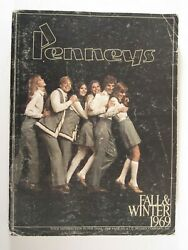 Penneys 1969 Fall And Winter Catalog 1083 Pgs. Fashion Home Electronics Etc Vtg