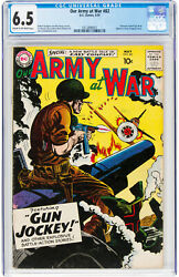 Our Army At War 82 Cgc 6.5 Dc 1959 1st Sgt. Rock Named Key K8 301 Cm Clean
