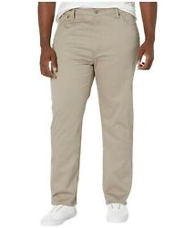 541 Big And Tall Pants Mens Athletic Fit Timberwolf Stretch Twill Jeans