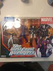 The West Coast Avengers Marvel Universe 4 Inch Action Figures 3-pack 2013