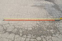 A.b. Chance Hotstick Disconnect Stick Head Stick 8' Foot Used Free Shipping