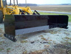 Linville 10' Low Profile Snow Pusher Skid Steer Bobcat American Made Usa