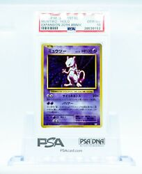 Psa 10 Mewtwo 49 1st Edition Japanese Expansion 20th Anniversary 2016
