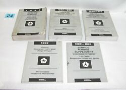 1999 LHS 300M Concord Intrepid Factory Service Manual Set USED #24