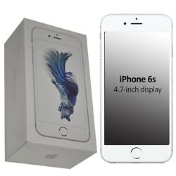 New Apple Iphone 6s 32gb A1688 Mn0x2b/a Silver Factory Unlocked 4g/lte Gsm