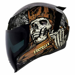 2019 Brand New Collection Icon Airflight Uncle Dave Motorcycle Crash Helmet