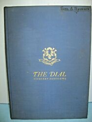 1942 Dial Teachers College Of Connecticut New Britain Connecticut Yearbook