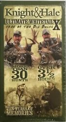 Knight And Hale Ultimate Whitetail X Year Of The Big Bucks Vhs New Rare Find
