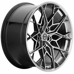 22 Hre Ff10 Silver 22x10.5 Forged Concave Wheels Rims Fits Audi Q8