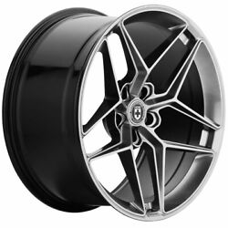 19 Hre Ff11 Silver 19x9 Forged Concave Wheels Rims Fits Acura Tsx