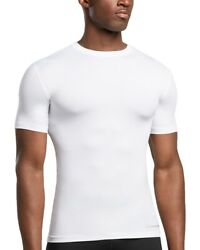 Menand039s Shirt Core Compression Support Fit Short Sleeve Crew Neck By Tommie Copper