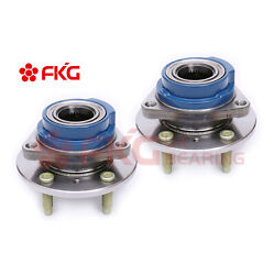 2 New Front Wheel Hub And Bearing Assembly For Buick Chevy Pontiac No/abs 513160