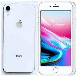 New 4.7 Apple Iphone 8 A1905 64gb Mq6h2b/a Silver Factory Unlocked 4g/lte Gsm