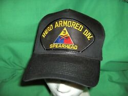 2801l - Military Style Hat Cap - Third Armored Division - Spearhead - Army
