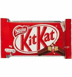 Nestle Kit Kat 4 Finger Chocolate Bars 45g x 48 {Imported from Canada}