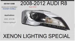 Audi R8 Headlight Assembly Right - Xenon By Magneti Marelli Oem