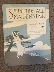 Shepards All And Maidens Fair By Ethelbert Nevin Rare Find Vintage