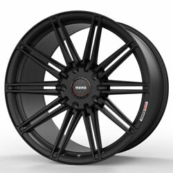 20 Momo Rf-10s Black 20x9 20x10.5 Concave Wheels Rims Fits Ford Mustang Gt