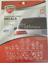 Traditional Family Decals 46 Peel amp; Stick Exterior Decals Family Pets Hobbies