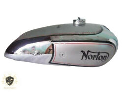 Norton Model18 Hand Gear Aluminium Fuel Petrol Tank 1930and039s With Cap |fit For