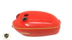Vincent Hrd Red Painted Aluminium Gas Fuel Petrol Tank|compatible For