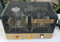 Vintage Heathkit W-5m Tube Mono Amplifier Amp Cage Cover And Chasis