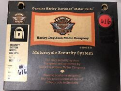 616 New Harley-davidson Motorcycle Security System North America