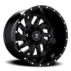 20 Inch 20x10 Rbp Glock Gloss Black Wheel Rim 6x135 +10