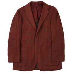 Nwt 7495 Kiton Soft-constructed Jersey Cashmere Sport Coat 40 R Eu 50