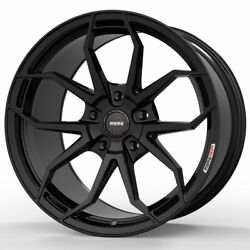 19 Momo Rf-5c Gloss Black 19x8.5 19x10 Wheels Rims Fits Benz E350 E500 E55 E63