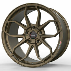 19 Momo Rf-5c Bronze 19x8.5 19x10 Concave Wheels Rims Fits Ford Mustang Gt