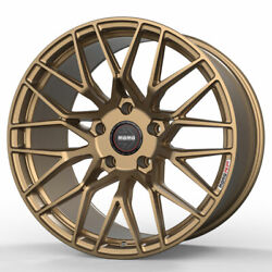 18 Momo Rf-20 Gold 18x8.5 Concave Forged Wheels Rims Fits Audi A3 S3