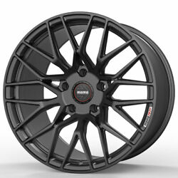 19 Momo Rf-20 Gray 19x8.5 19x10 Concave Forged Wheels Rims Fits Ford Mustang Gt