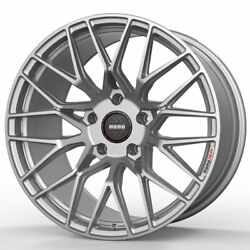 18 Momo Rf-20 Silver 18x8.5 18x9.5 Concave Wheels Rims Fits Infiniti G35 Coupe