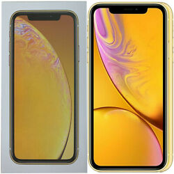 New 6.1 Apple Iphone Xr A2105 64gb Mry72b/a Yellow Factory Unlocked 4g/lte Gsm