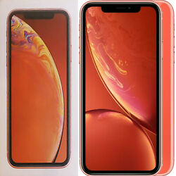 New 6.1 Apple Iphone Xr A2105 128gb Mryg2b/a Coral Factory Unlocked 4g/lte Gsm