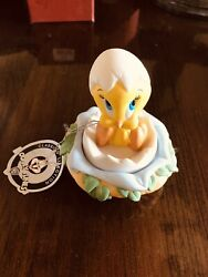 """Nib Looney Tunes Hand Crafted Fine Porcelain By Goebel """"nest Egg"""""""