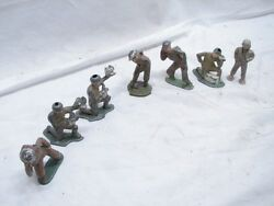 Lot Early Barclay Manoil Wwii Toy Lead Soldiers Special Task Pigeon Coms B