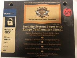 619 New Harley-davidson Security System Pager With Range Confirmation Signal